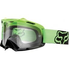 Fox Airspc green gogle cross enduro ATV