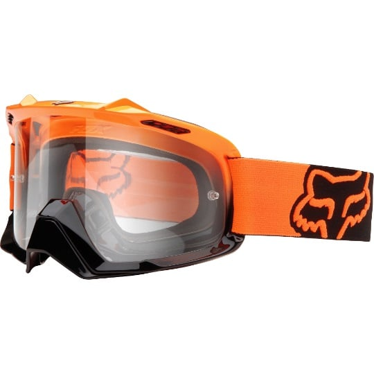 Fox Airspc orange gogle cross enduro