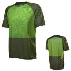 Fox Indicator green koszulka rowerowa