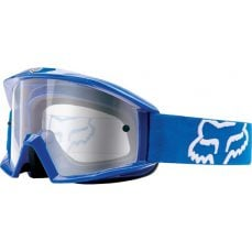 Fox Main blue gogle cross enduro ATV