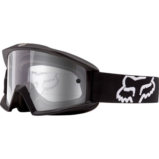 Fox Main matt black gogle cross enduro ATV