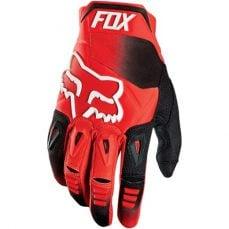 Fox Pawtector red rękawice cross